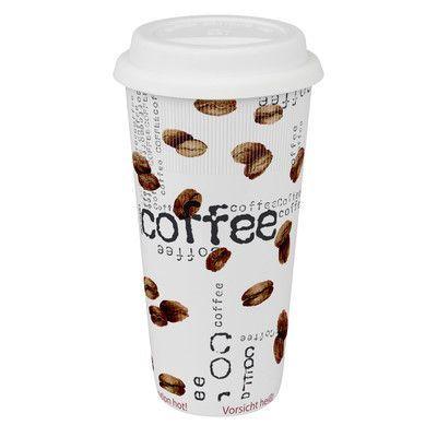 Konitz Large Travel Coffee Collage Mug