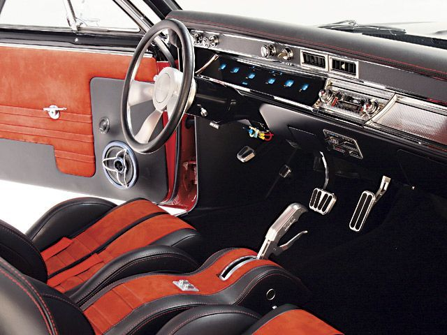 Theshopllc Custom Console In An El Camino Chevelle Ratchet