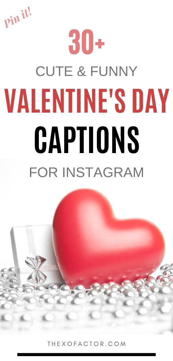 32 Cute And Funny Valentine's Day Captions in 2020 ...
