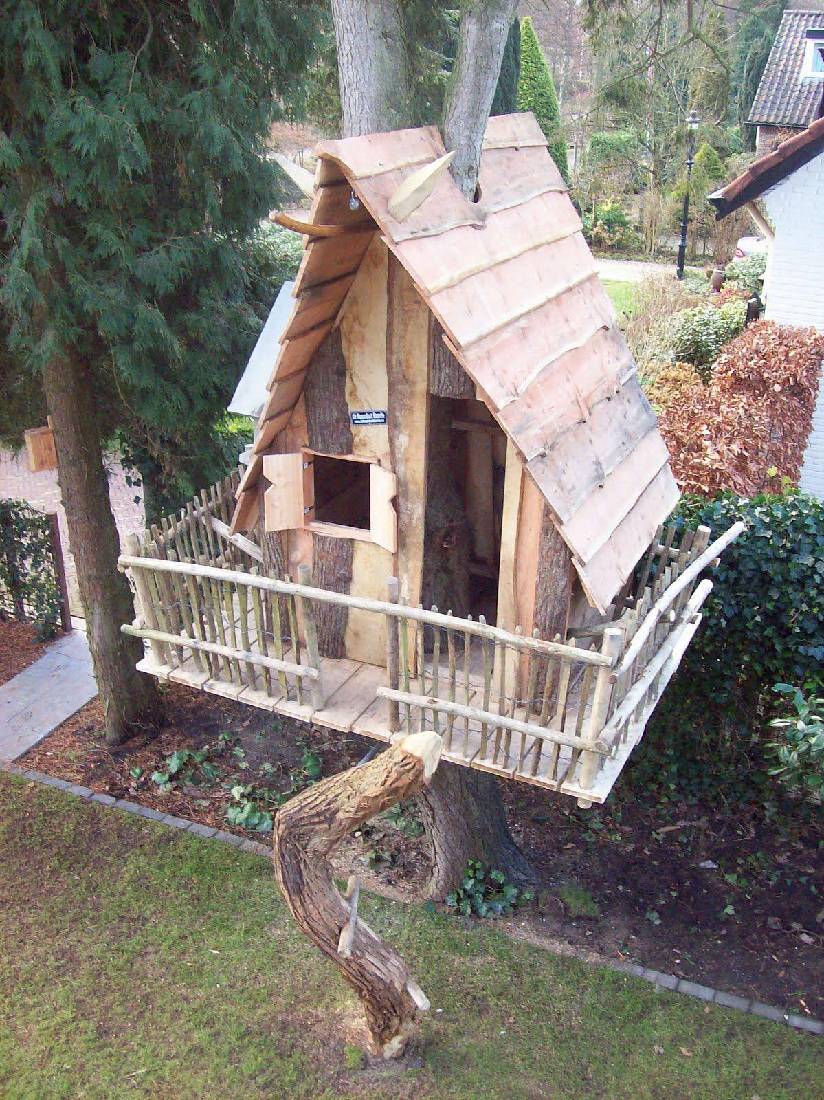 treehouse playhouses speelhuisjes pinterest treehouse tree