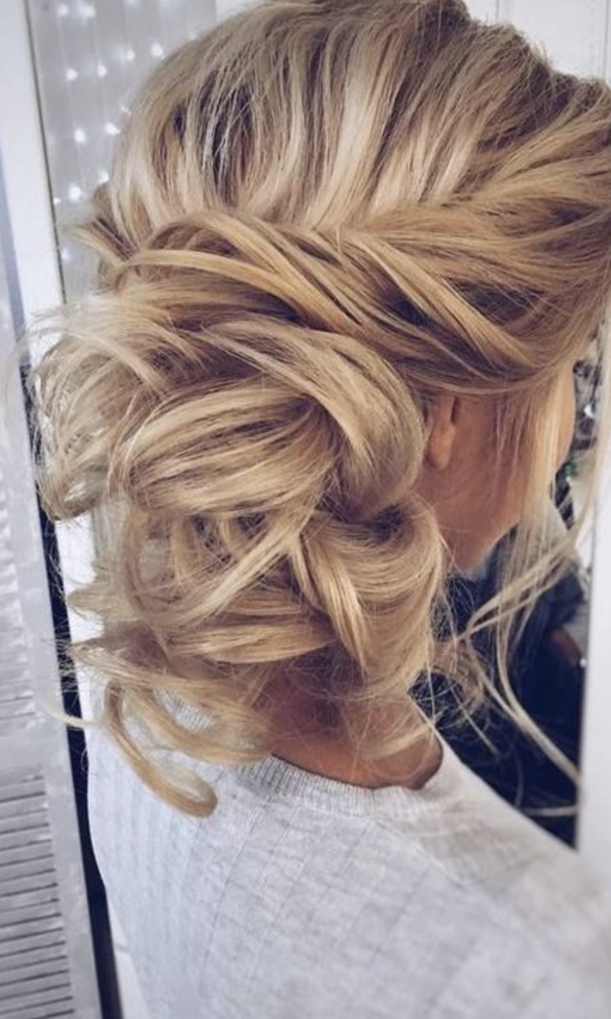 Messy Updo X Girlgetglamoroushair Clip In Hair Extensions Beach Day