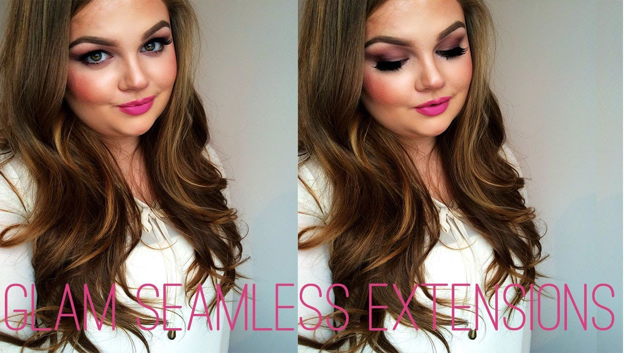 Glam Seamless Review Clip In Extensions By Beauty Blogger Cody Wren
