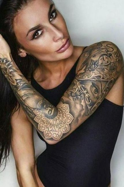 Best Looking Arm Tattoos For Girls Girl Arm Tattoos Girl Tattoos Cool Arm Tattoos