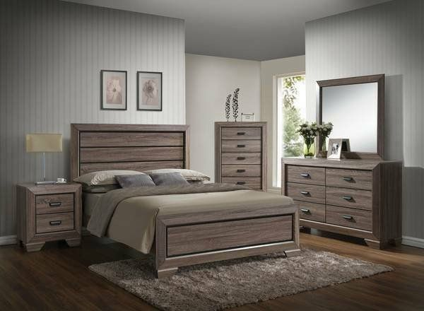 Peachy Lyndon Bedroom Set 4Pcs Furniture Tulsa Ok At Geebo Interior Design Ideas Philsoteloinfo