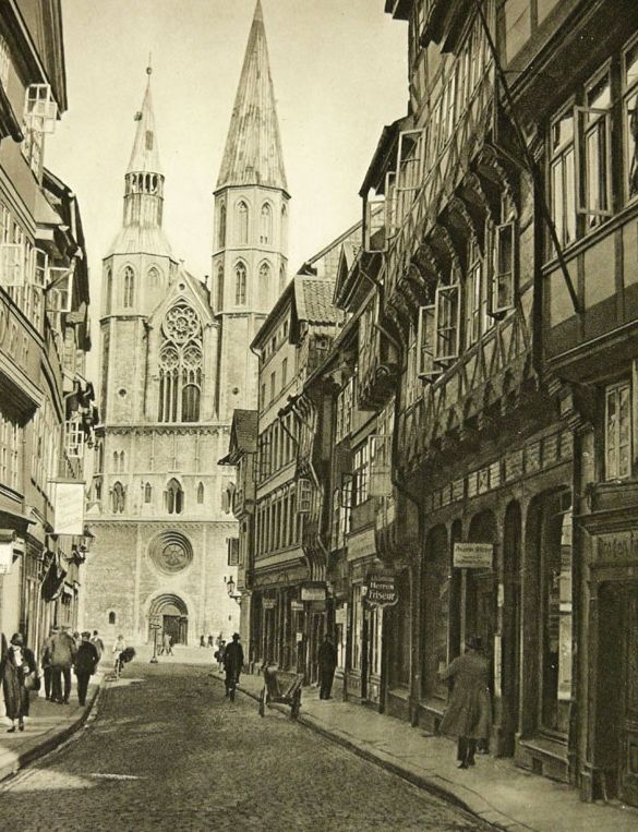 German Small Towns in 1920's,
