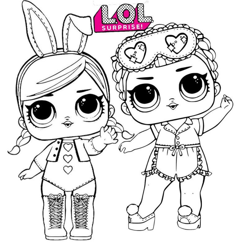 Hops And Sleeping B B Lol Surprise Coloring Page Birthday Coloring Pages Cute Coloring Pages Lol Dolls