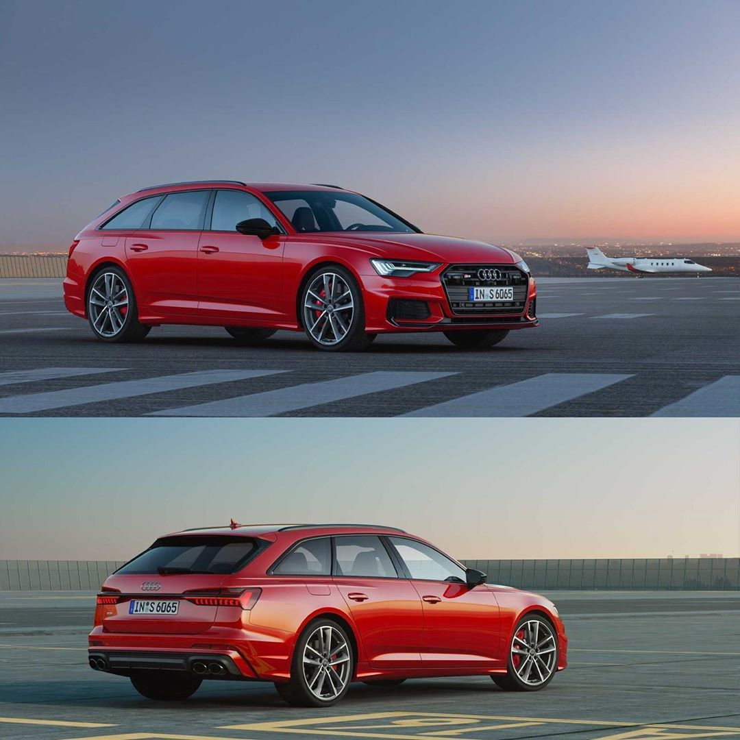 2020 Audi S6 Avant Revealed 2 9t Makes 450hp Outside Europe But The Europe Gets A Tdi Engine With A 48 Volt Mild Hybrid S6avant Audi S6 Audi Tdi