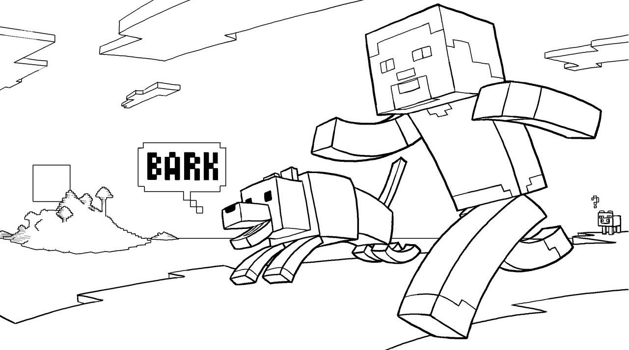 Coloring Page Minecraft Coloring Pages Print Them For Free In 2020 Minecraft Coloring Pages Coloring Books Coloring Pages For Kids