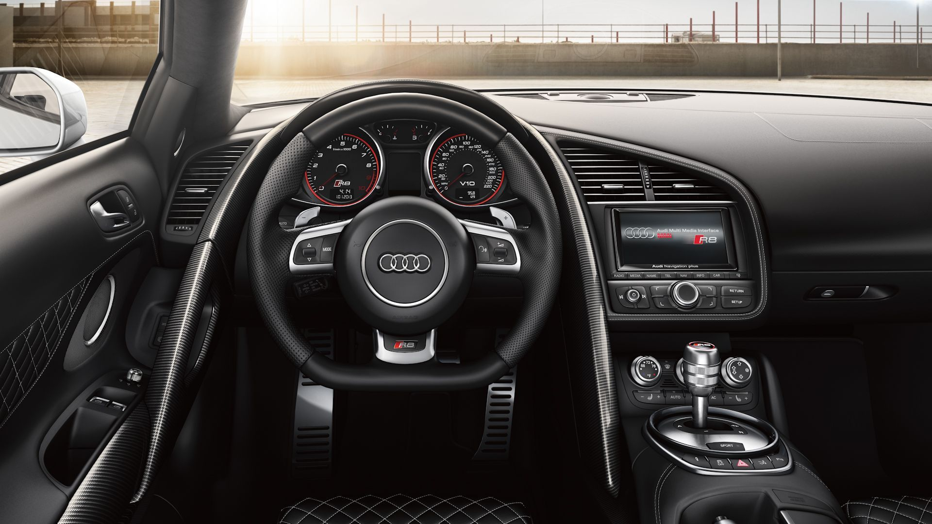 2015 Audi R8 Spyder Interior Dashboard Wallpaper Audi Usa Audi