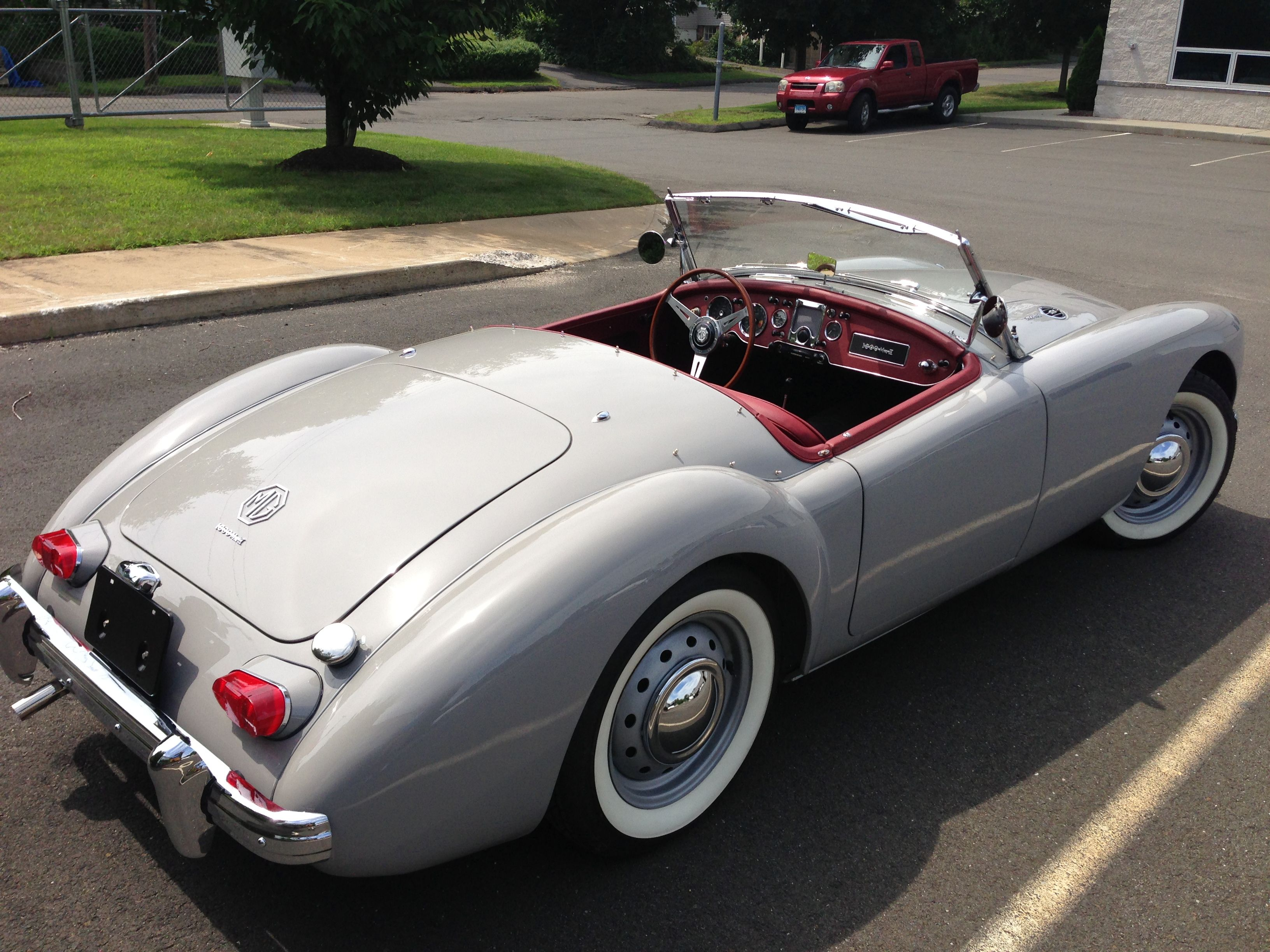 MGA MKII dove grey | Convertibles | Pinterest | Dove grey, Cars ...