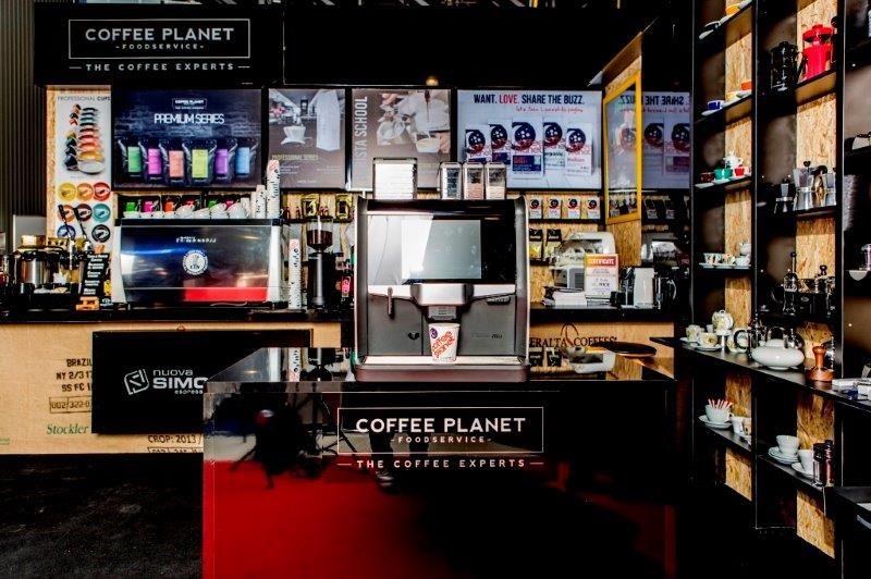 Our Coffee Planet Stand At Horex In Baku Azerbaijan Sharethebuzz Coffeetravel Coffee Planet Coffee Travel Planets