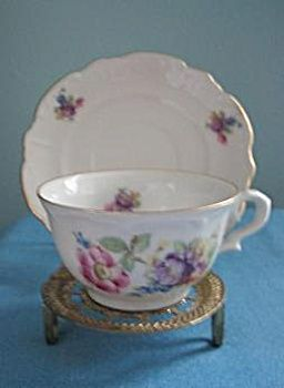 Bayreuther China Demitasse Cup and Saucer