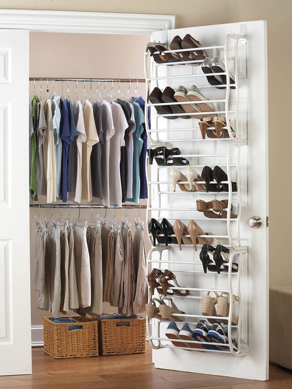 20 Space Saving Shoe Rack Ideas 14 Closet Shoe Storage Shoe Rack Closet Space Saving Shoe Rack