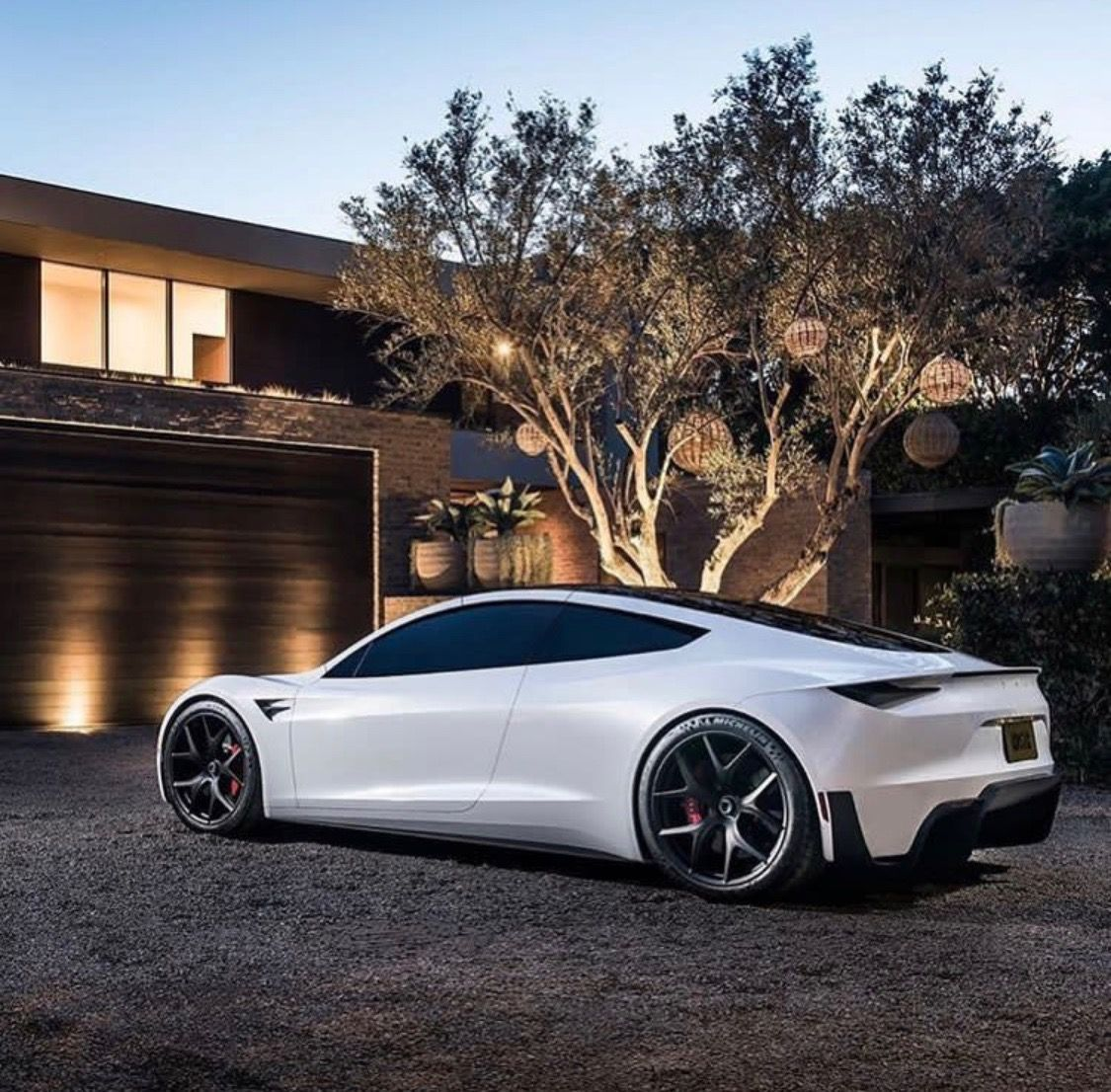 10 Fearsome Wheels Rims Concept Ideas Tesla Roadster Electric Sports Car Dream Cars
