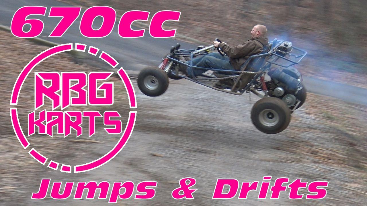 Red Beard's Garage takes the ole 670cc yerfdog go-kart/buggy