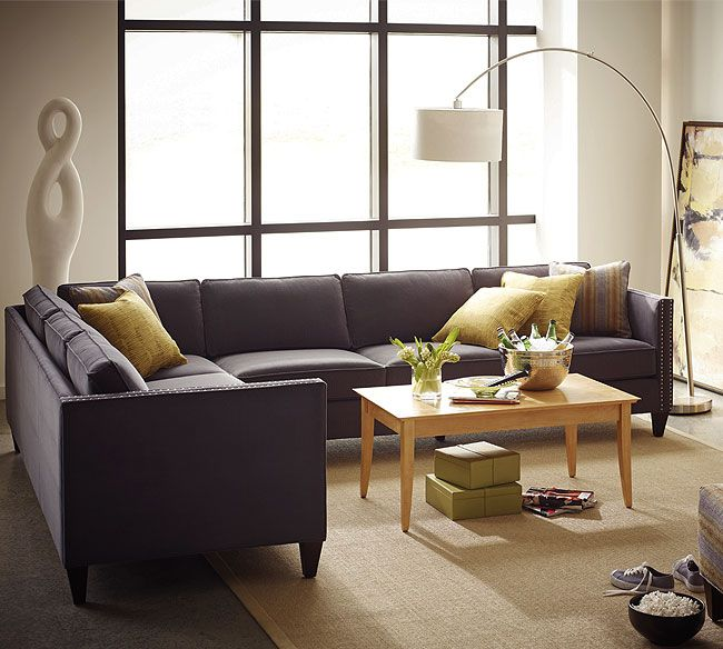 Mitchell N220 Sectional   Rowe   1858.50 : rowe sectionals - Sectionals, Sofas & Couches