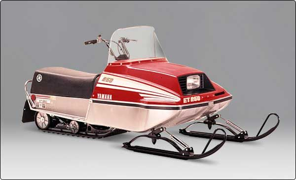 1980 Yamaha 250 Exciter Snowmobile