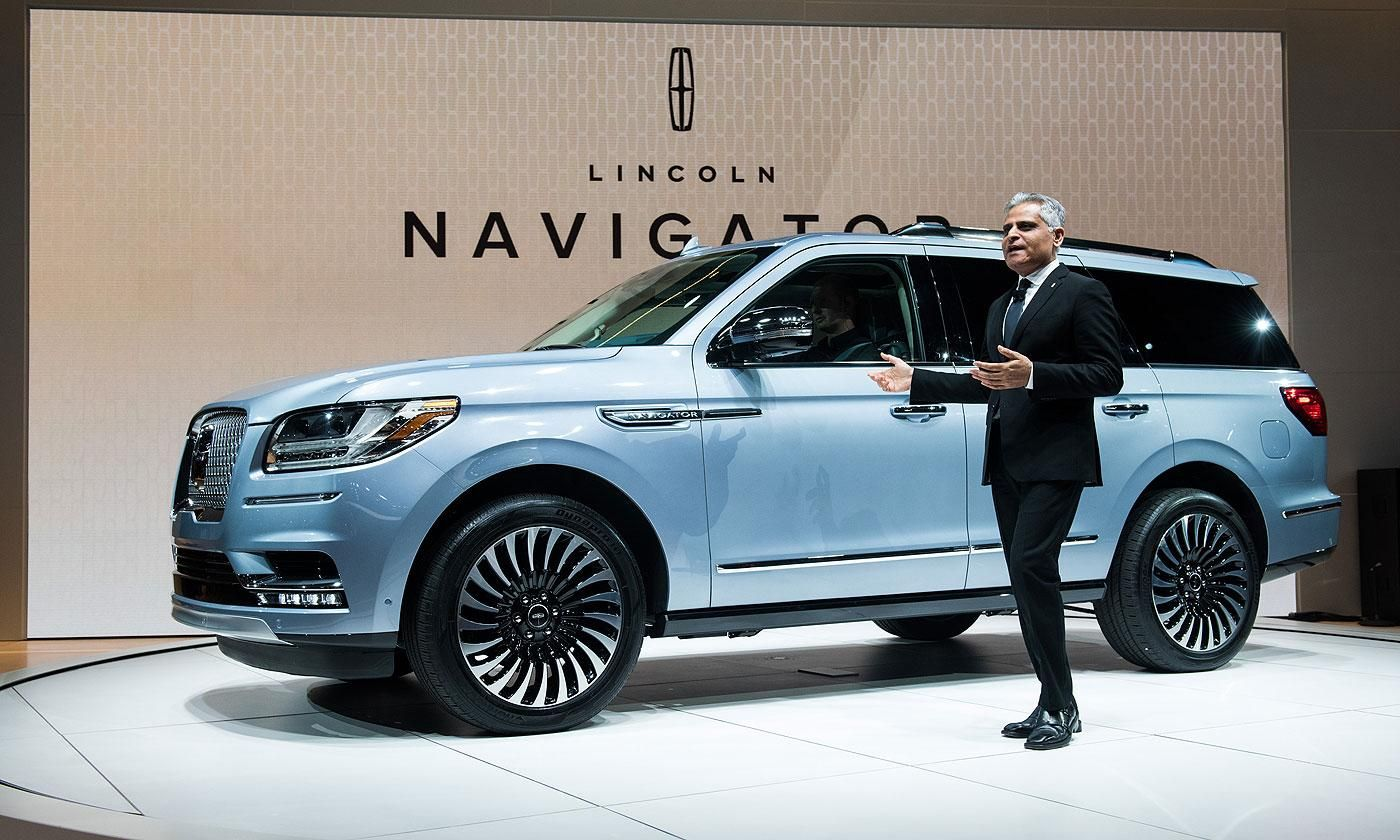 Lincoln Navigator 2018 Suv From Motor Company Will Coming Out With New Ful Engine And Better Design For Upcoming