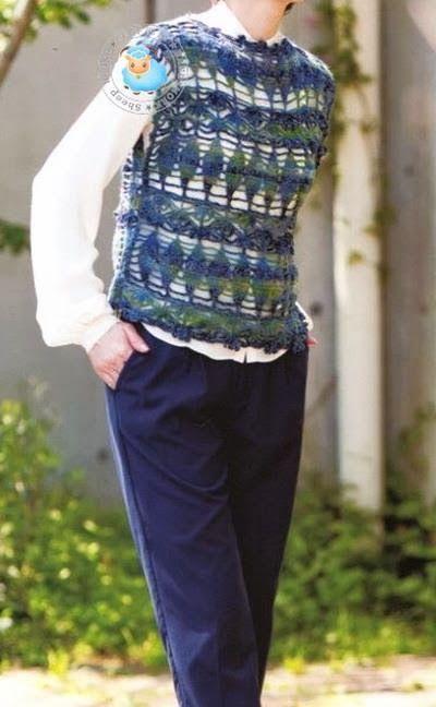 Crochet Sweater: Crochet Vest - Gorgeous Vest For Women - Gorgeous Crochet Stitch