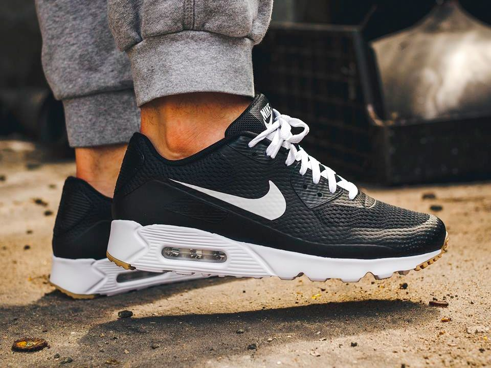 85855a647946 Nike Air Max 90 Ultra Essential - Black (by Run Colors) Get it at   Finishline   Sneakersnstuff   End Clothing