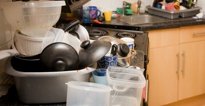How to clean out your kitchen clutter. #organization ...