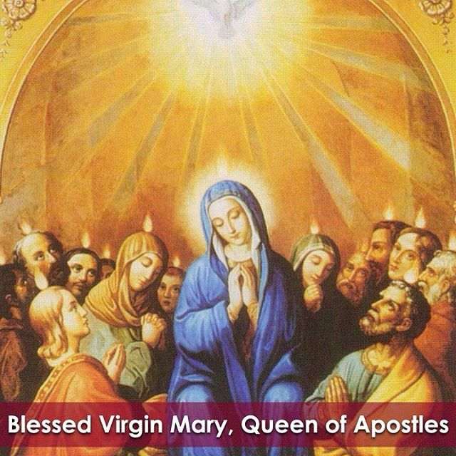 "Today we celebrate the Feast of the Blessed Virgin Mary, Queen of Apostles!  St. Vincent Pallotti, our patron, had a strong devotion to Our Lady, speaking of her as, ""Mother of Divine Love"" and ""Queen of Apostles."" Under this second invocation, the Blessed Virgin Mary is a patroness of the Catholic Apostolate Center.  #bvm #mary #inspiration"