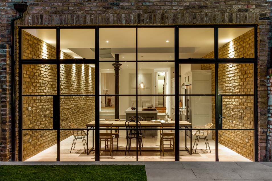 Have You Considered Steel Framed Windows London House House Crittal Windows
