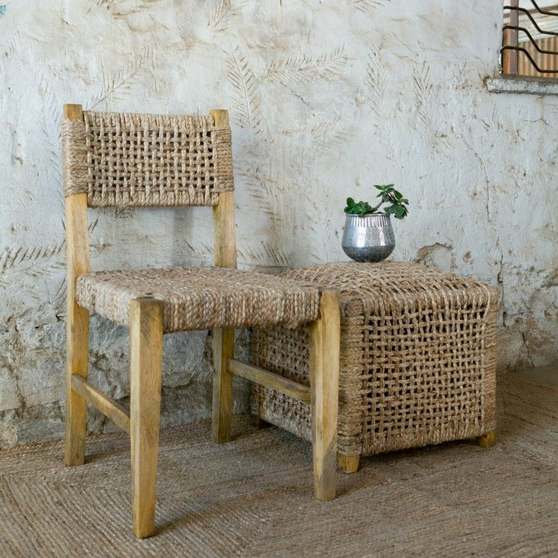 Attractive Display · Pali Jute Dining Chair ...
