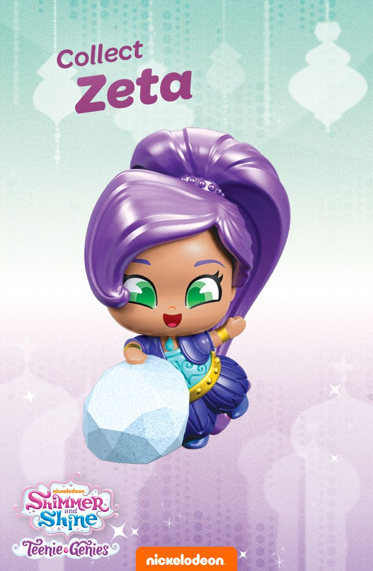 Zeta Is Ready To Go From Her Secret Lair Into Your Shimmer And Shine Teenie Genies Collection In Stores Now Shop Here To Shimmer Shine Teenie Shimmer N Shine