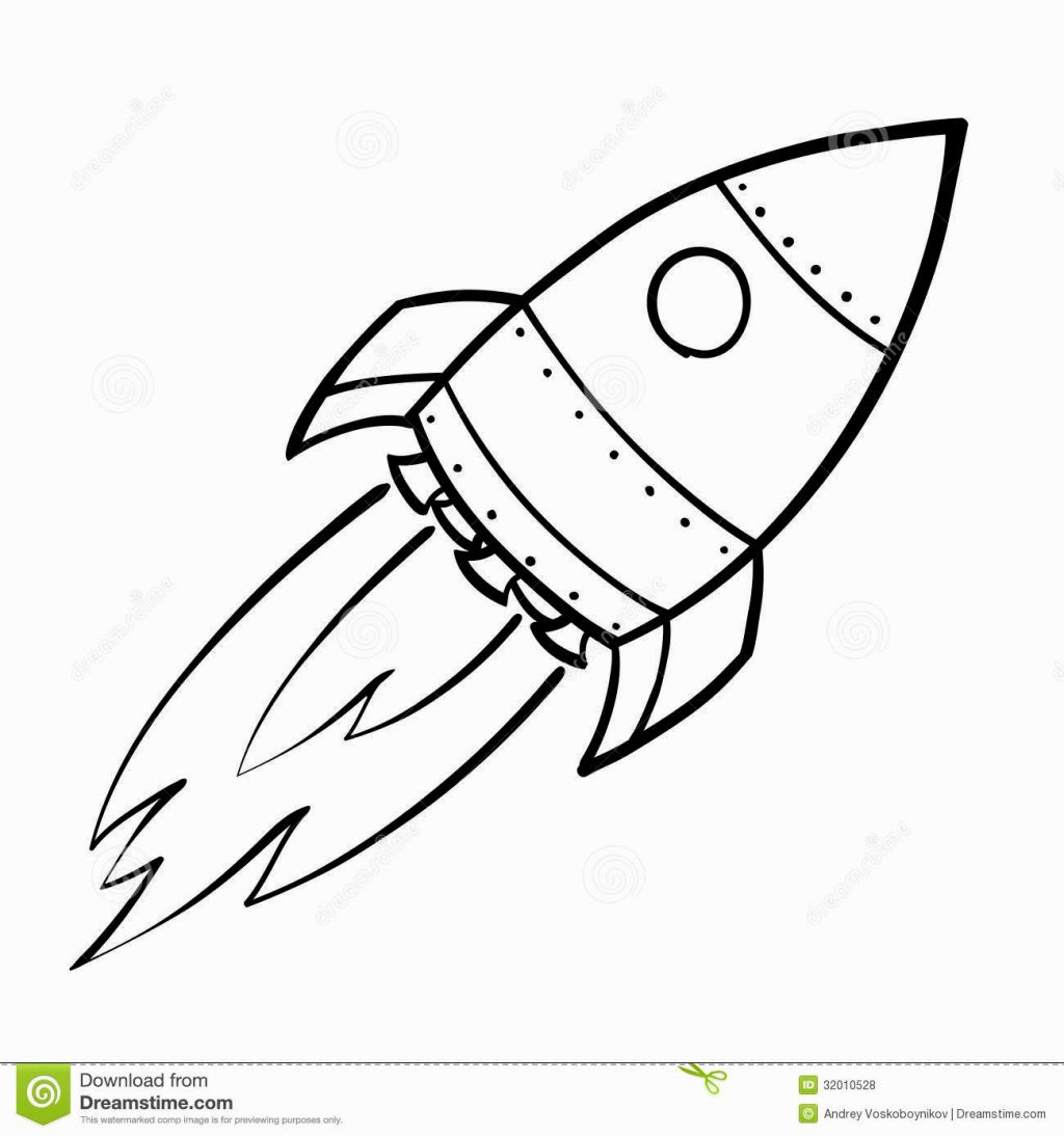 Rocket Ship Coloring Page Rocket Drawing Spaceship Drawing Rocket Tattoo