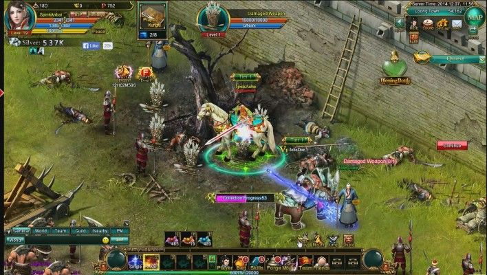 Shifu Is A Free To Play Browse Based Massively Multiplayer Online Role Playing Game Mmorpg Also Playable On Facebook Roleplaying Game Mmo Games Mmo