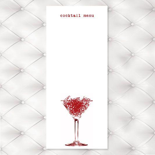 free cocktail menu Menu Ideas Pinterest Cocktail menu, Menu