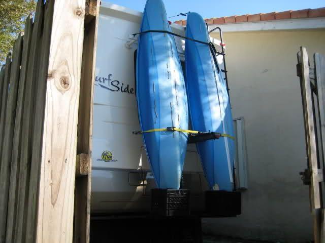 Rv Net Open Roads Forum Class A Motorhomes Homemade Kayak Rack