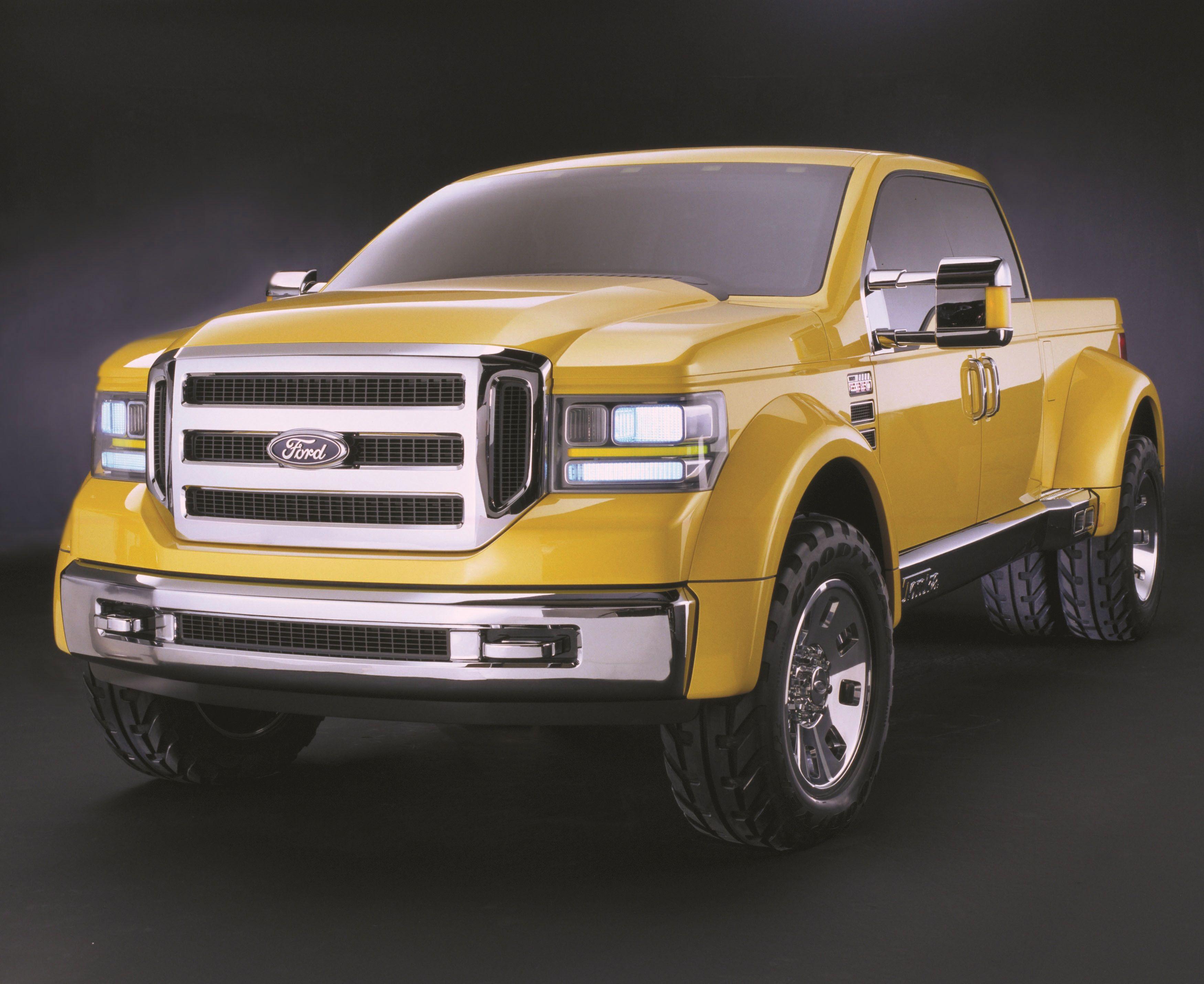 ford tonka truck   Ford Tonka Concept (2002)