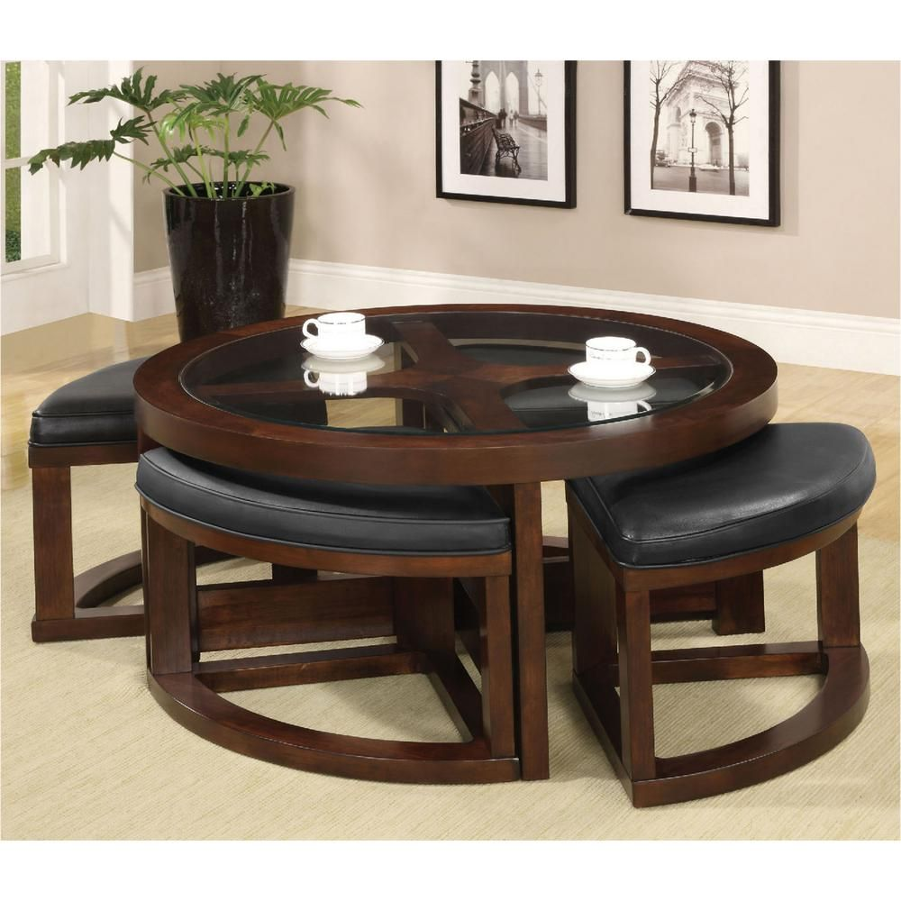 Crystal Cove Ii Dark Walnut Coffee Table Living Room Decor Furniture Coffee Table Wood Furniture