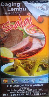 Produk Salai Daging Ikan Keli Ayam Puyuh Masakan