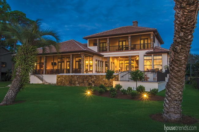 Under the Florida sun | Backyard design, House exterior ... on Hhh Outdoor Living id=75491
