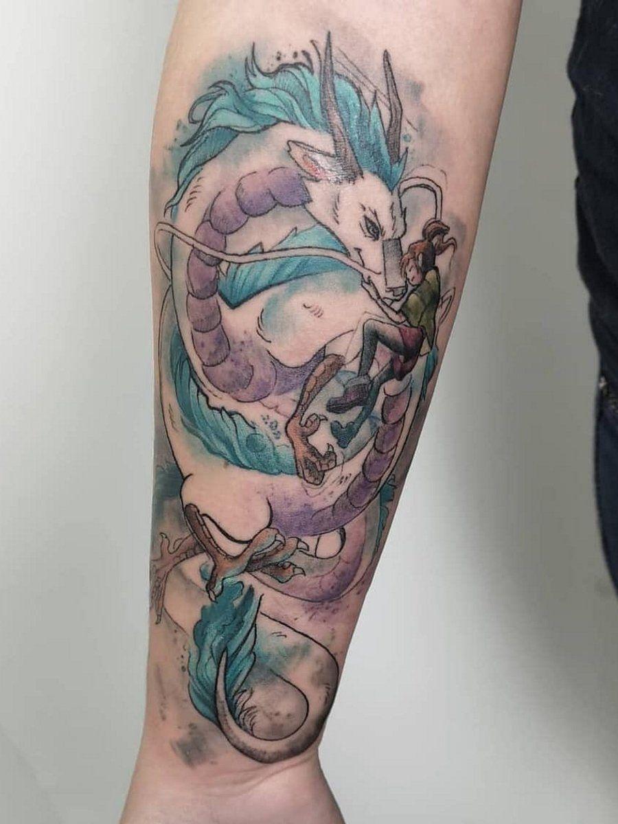 Ramon On Twitter Spirited Away Tattoo Tattoos Body Art Tattoos