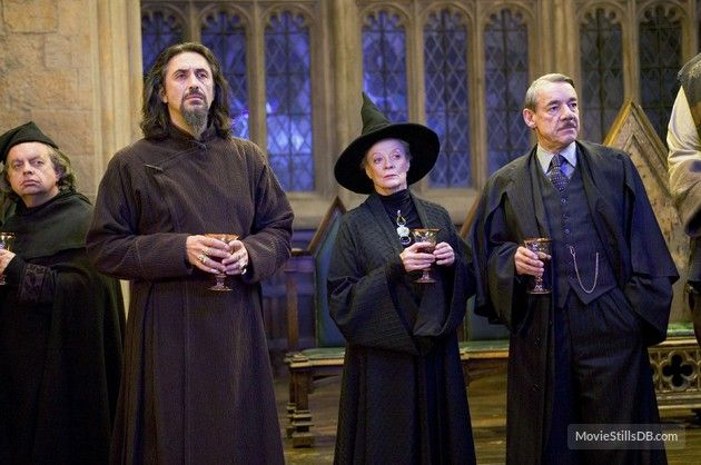 Harry Potter And The Goblet Of Fire Publicity Still Of Maggie Smith Predrag Bjelac Harry Potter Scene Harry Potter Goblet Harry Potter Universal