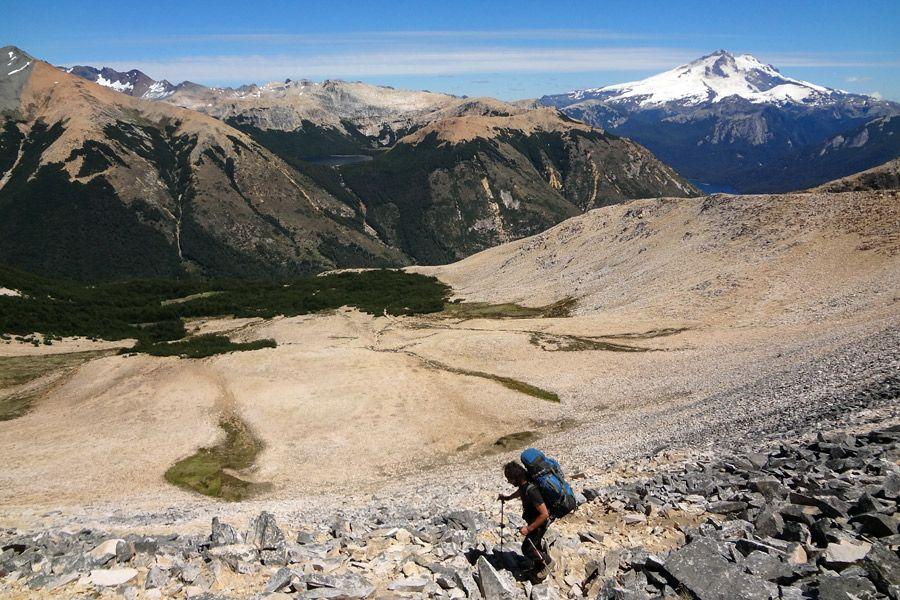 Travessia do Refúgios nas montanhas de Bariloche! #trekking #patagonia #bariloche