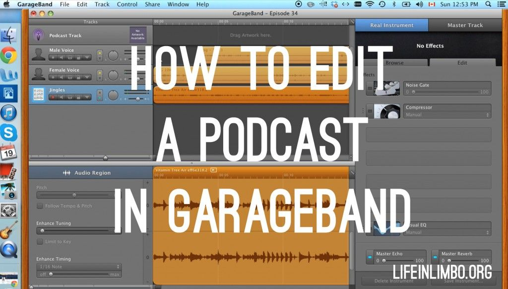 Q&A How to Edit a Podcast in Garageband (With images