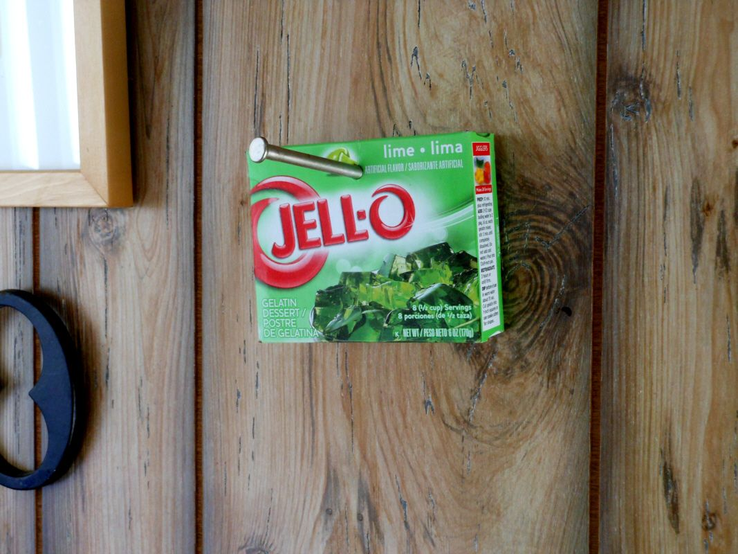 nailing jello to a wall