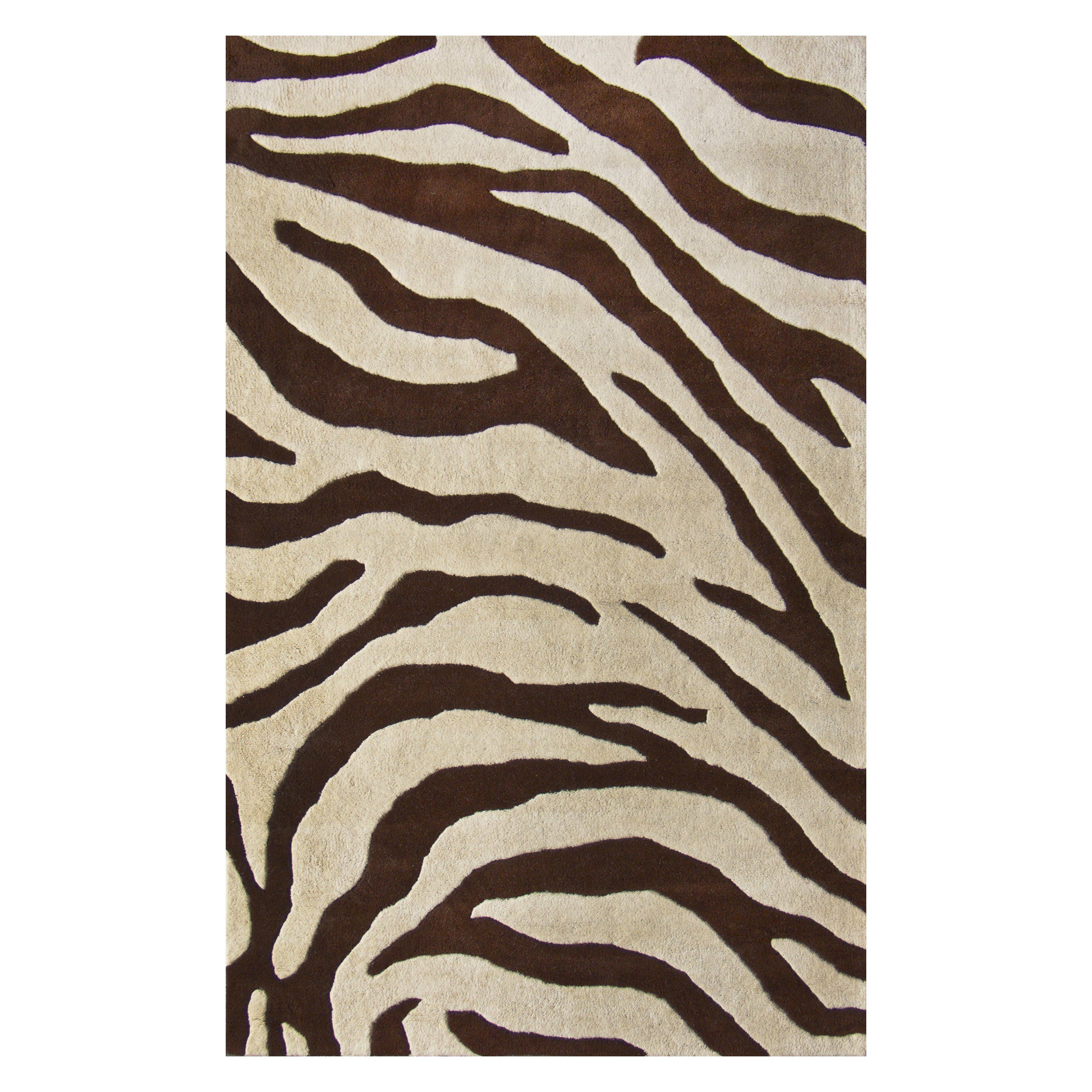Alfombras Animal Print Have To Have It Nuloom Zebra Print Afz01a 606r Area Rug 224 99