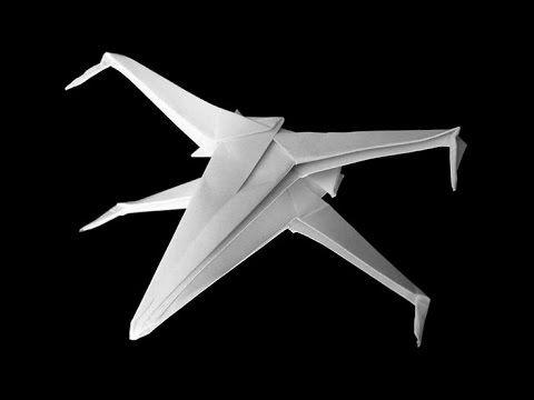 Mais origamis incríveis da série Star Wars (Mestre Yoda e naves espaciais) – Ideia Quente