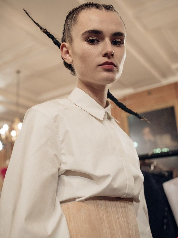 LCF MA Womenswear AW16 Yiru Sui