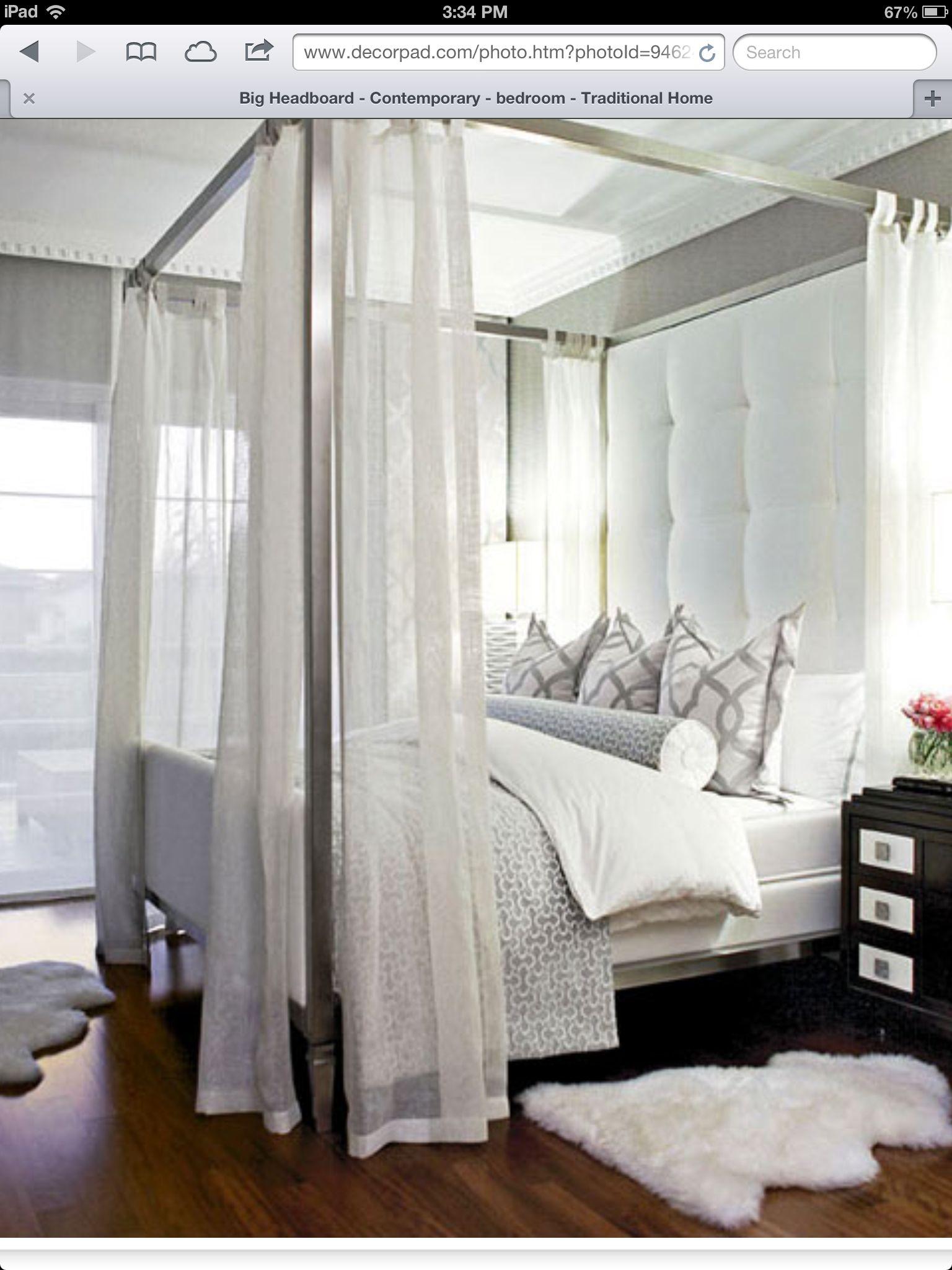 Traditional romantic master bedroom decor  Bedroom ideas  My new bedroom  Pinterest  Bedrooms Gray bedroom