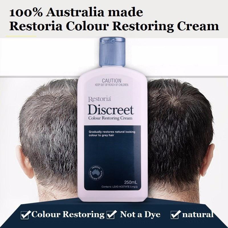 42ebe31f17d6 100%Australia made Restoria Discreet Colour Restoring Cream Lotion ...