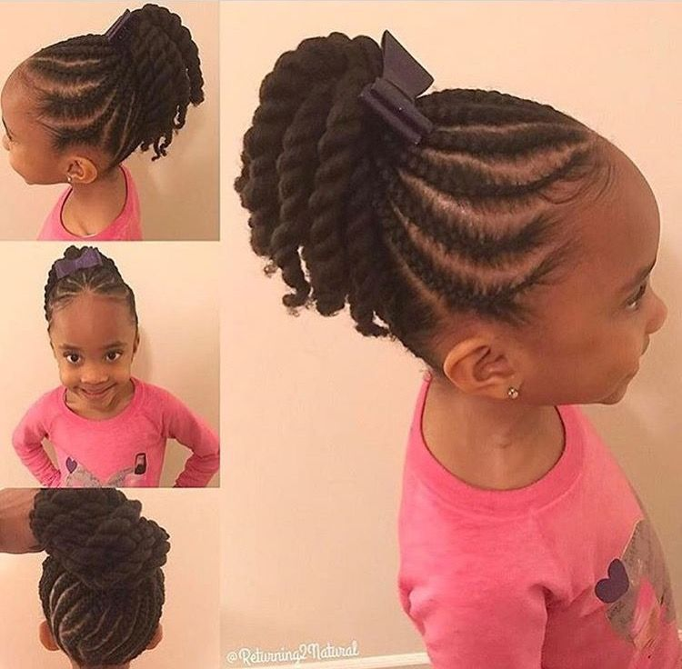 Hairstyles For Black Little Girls Princess Crown Braid One Of The Best Updated Version For Teenage