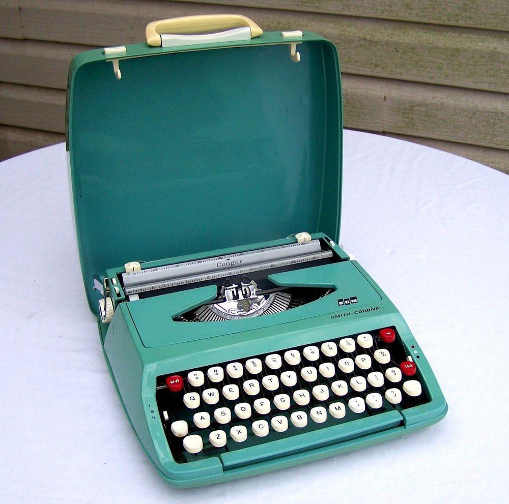 NOT ACTUAL TYPEWRITER!!!!! 1955 ROYAL Pink Typewriter ** REPLICA METAL SIGN **