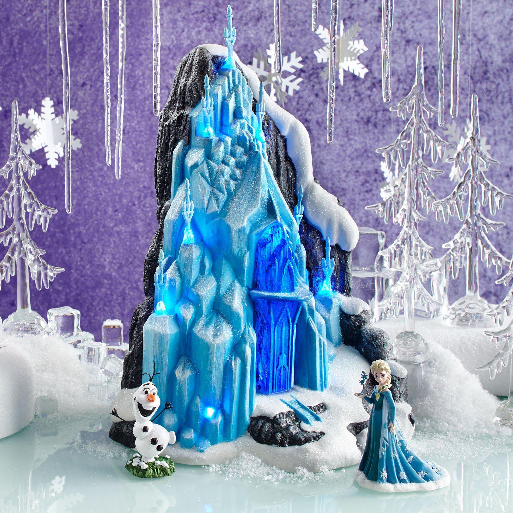 Department 56 Disney Village Frozen Elsas Ice Palace Lit